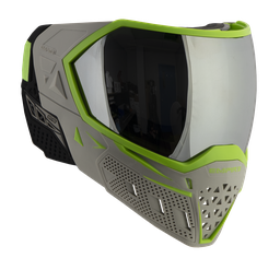 [21657] Empire EVS Goggles Team Edition Elevation - Grey/Lime - Silver Mirror